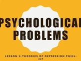 MANAGEMENT OF EMOTIONAL AND PSYCHOLOGICAL PROBLEMS
