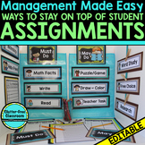 MANAGING STUDENT ASSIGNMENTS & PROJECTS