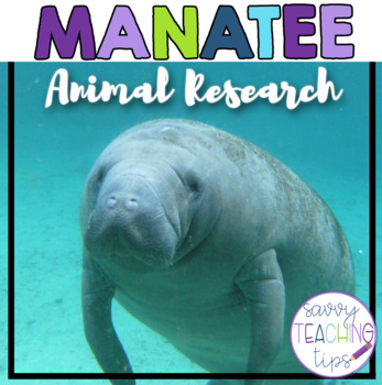MANATEE - nonfiction animal research