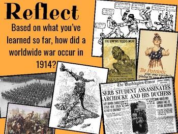 MANIA: CAUSES OF WORLD WAR I