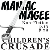 MANIAC MAGEE Children's Crusade Historical Nonfiction