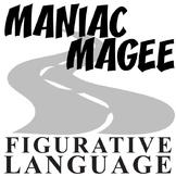 MANIAC MAGEE Figurative Language Bundle