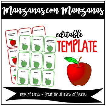 GAME/ACTIVITY: Manzanas con Manzanas (Apples to Apples)