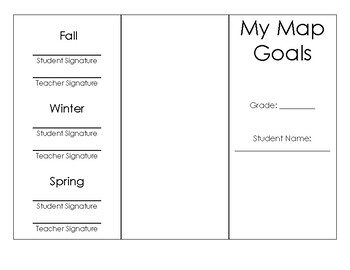 MAP Goal Setting Brochure