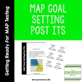 MAP Goal Setting Post Its
