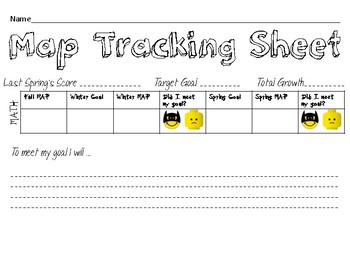 MAP Goal Track Sheets