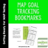 MAP Goal Tracking Bookmarks