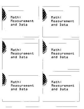 MAP assessment Math Descartes - Measurement and Data
