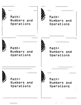 MAP assessment Math Descartes - Numbers and Operations