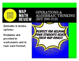 MAP Math Test Review: Operations and Algebraic Thinking (RIT Band 200-210)