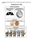 MAP Math Vocabulary Picture Cards Intervals 171-180
