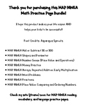 MAP NWEA Prep Math Practice Page BUNDLE