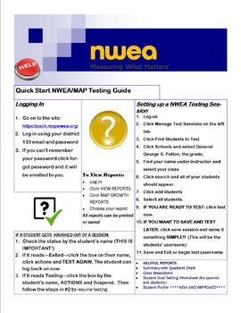 MAP (NWEA) Quick Start Guide