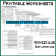 MAP Practice Test, Worksheets and Remedial Resources - Grade 4 Math