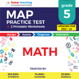 Online MAP Practice test, Printable Worksheets, Grade 5 Ma