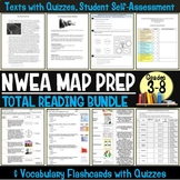 NWEA MAP Prep Reading Passages and Vocabulary Assessment Bundle