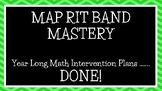 MAP RIT BAND INTERVENTION YEAR LONG PLANS
