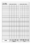 NWEA MAP Recording Sheet and Data Tracking