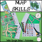 MAP SKILLS - Including Google Slides™ Activities