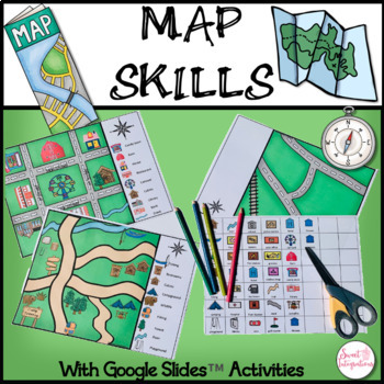 MAP SKILLS - Including Google Slides™ Activities