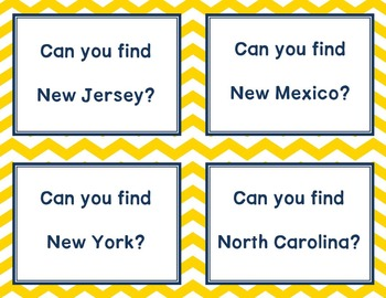 Geography Map Skill Activity