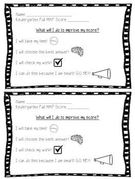 MAP Student Goal Sheet