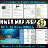 NWEA MAP Prep Reading Complete Bundle Quizzes Games and Flash Cards