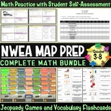 NWEA MAP Prep Math 3rd-8th Grade Bundle