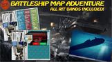 MAP TEST READING NWEA VOCAB GAME BUNDLE- Battleship Adventure (ALL RITs 141-260)