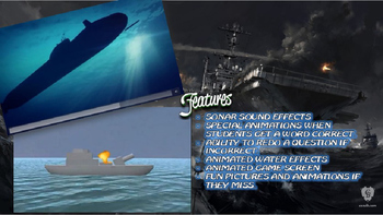 MAP TEST READING NWEA VOCAB GAME BUNDLE- Battleship Adventure (ALL RITs 141-260)