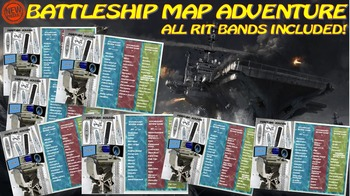 MAP TEST READING VOCABULARY GAME - Battleship Game Preview (211-220)