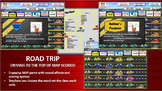 MAP TEST READING VOCABULARY GAME - ROAD TRIP FREE GAME PREVIEW)