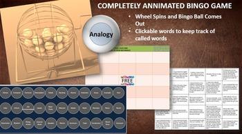 MAP TEST READING VOCABULARY GAME - Real Bingo FREE GAME PR
