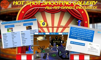 MAP TEST READING VOCABULARY GAME - Shooting Gallery FREE G