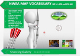 MAP TEST READING NWEA VOCAB GAME - Shooting Gallery  RIT 141-170 RIT 171-180