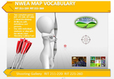 MAP TEST READING NWEA VOCAB GAME - Shooting Gallery  RIT 211-220 RIT 221-260