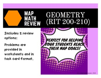 MAP Test Practice: Geometry (RIT Band 200-210)