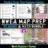 NWEA MAP Prep Reading and Math Complete Bundle #SPRINGSAVINGS