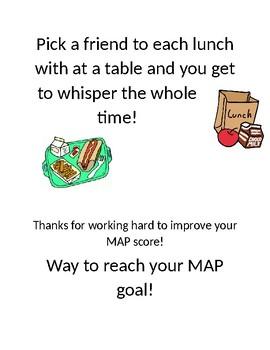 MAP Test Rewards