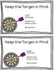 MAP Test Target Sheets