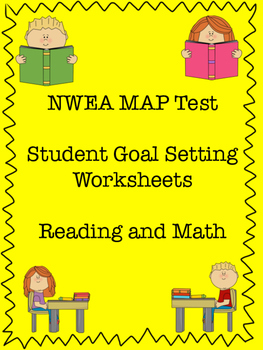 MAP Testing Goal Setting Worksheet By Great Day To Teach TpT - Map testing