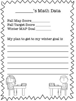 MAP Testing Goal Setting Worksheet