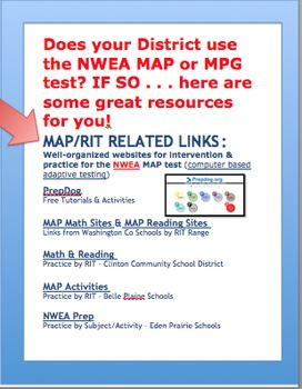 MAP Testing Practice & Intervention Resources
