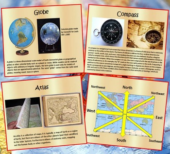 Maps and Globes - Geography - Interactive PowerPoint Lesson