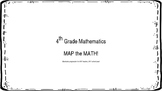 MAP the MATH! Common Core Math Guide