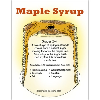 MAPLE SYRUP Gr. 2-4