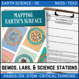 MAPPING EARTH'S SURFACE - Demos, Lab and Science Stations