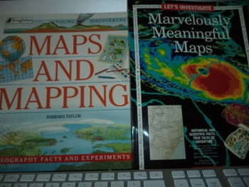 MAPS AND MAPPING MARV MEANING MAPS   (SET OF 2)