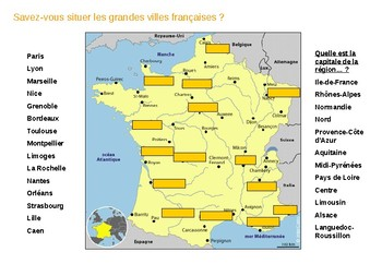 MAPS AND PICTURES OF FRANCE