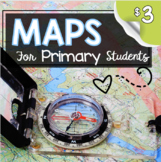 MAPS - How to Use a Map - Mapping Unit for Kindergarten an